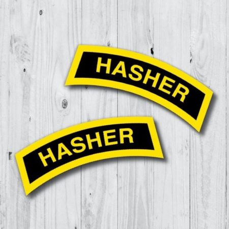 Hasher Tab Stickers 20