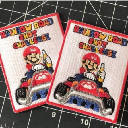 Rainbow Road Shot Challenge Patches 9