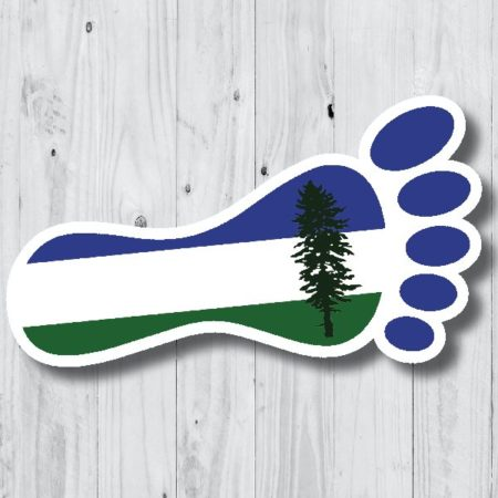Cascadia Flag Foot Sticker 13