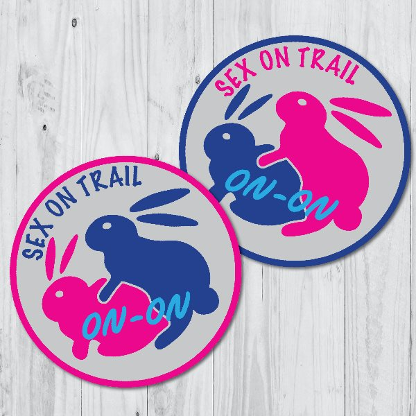 Sex on Trail Patches 1