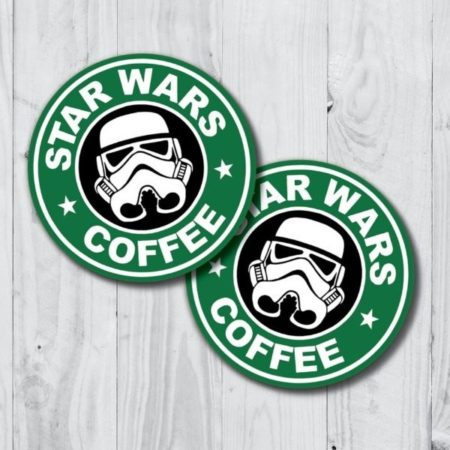 Star Wars Coffee Sticker 16