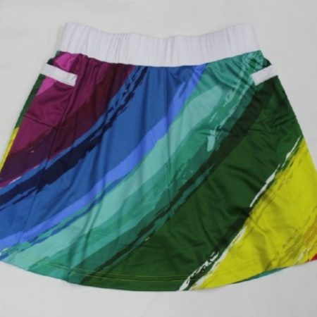 Rainbow Running Skirt (Skort) 10