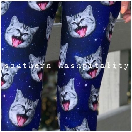 Cosmic Kitty Leggings 6