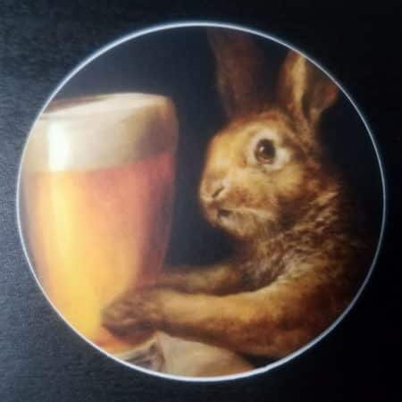 Pint-Sized Hare Sticker 4