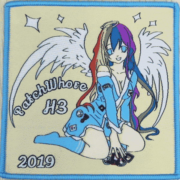 2019 Patch Whore H3 Kennel Patch 1