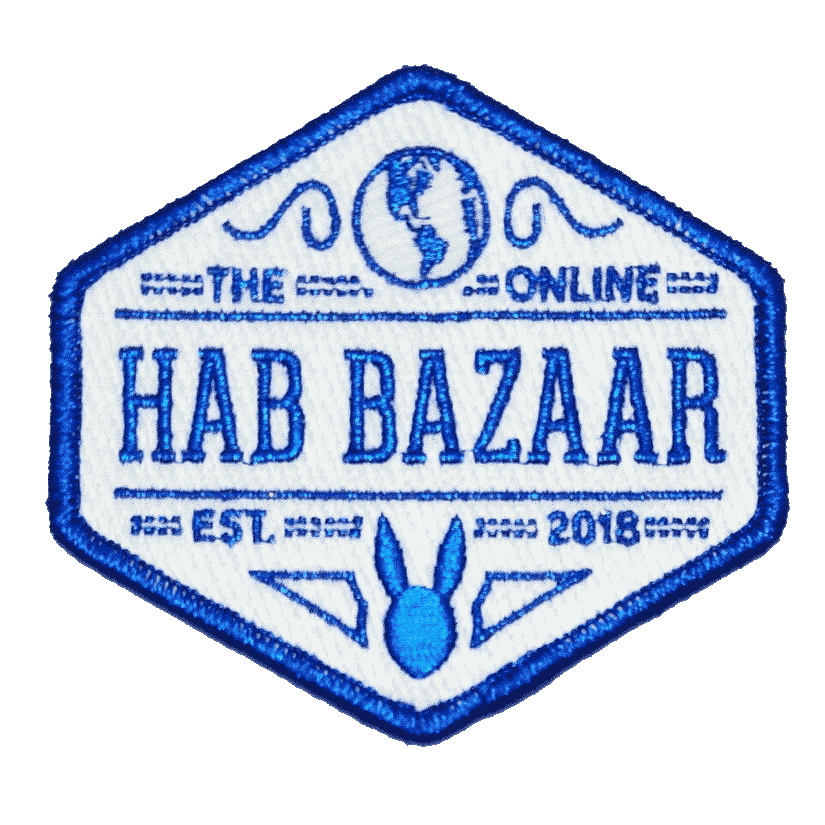 The Official Hab Bazaar Patch! FREE WITH $50+ ORDER! 1