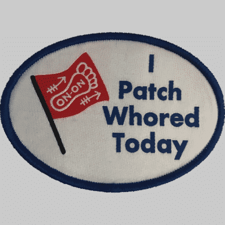 I PatchWhored Today Charity Patch 9