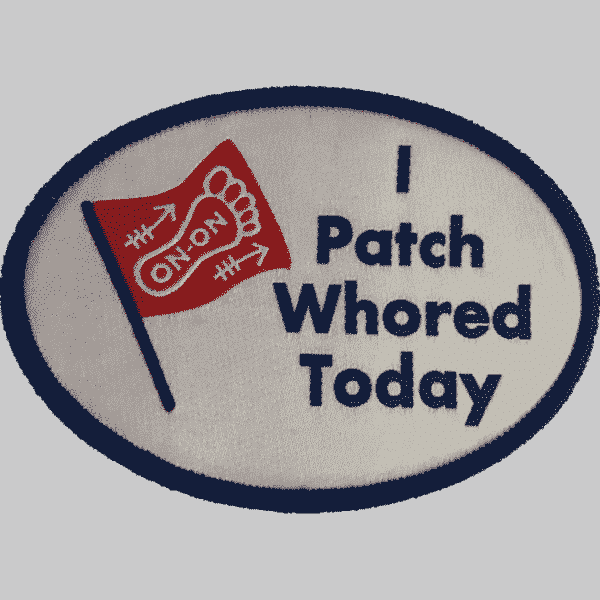 I PatchWhored Today Charity Patch 1