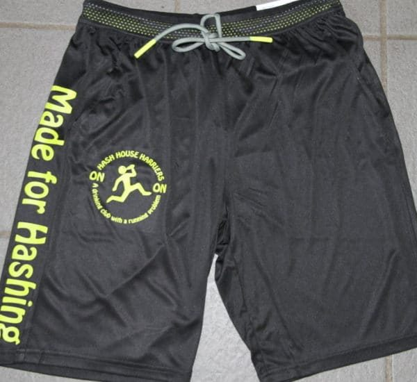 Harriers Shorts Made for Hashing 1