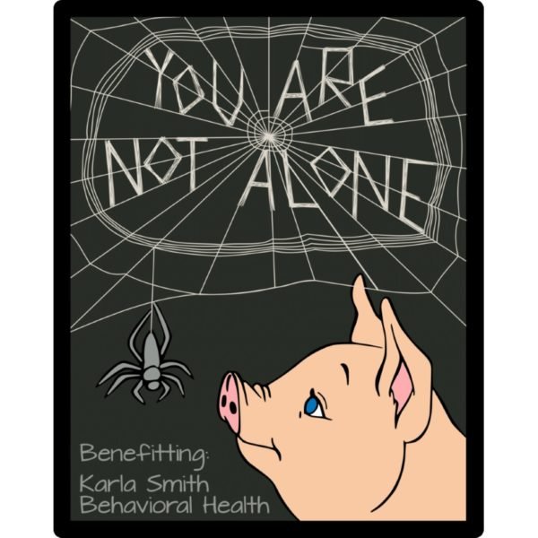 Charity - Charlottes Web You Are Not Alone Patch 1