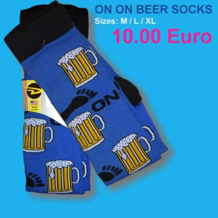 On On Beer Socks - Dry Fit 4