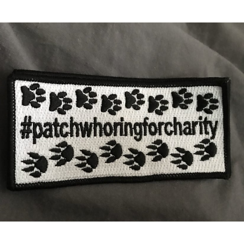 Charity patchwhoringforcharity Animal Charity Patch 1